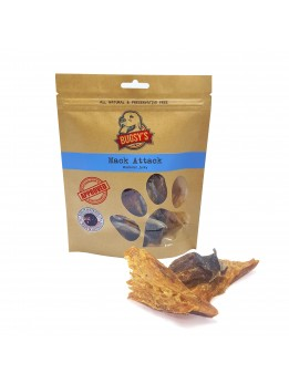 Bugsy's Mack Attack Wild Caught Mackerel Jerky & Tail 100g