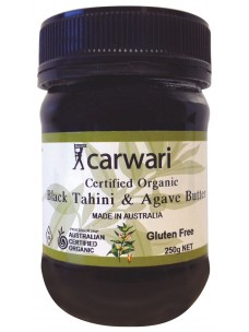 Carwari Black Tanini/Agave Butter 250g