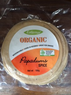 Org Papadums Spiced