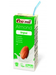 Ecomil Almond Drink 1x200mls  Less 5% on cases of 24 units