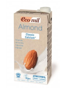Ecomil Almond Classic drink Calcium enriched 1L