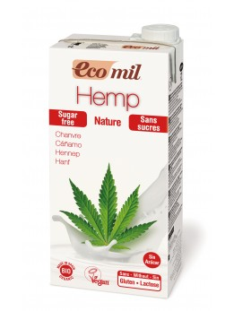 Ecomil Hemp Drink Sugar free 1L