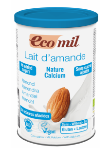 Ecomil Almond Nature + Calcium Instant Powders Unsweetened 400g
