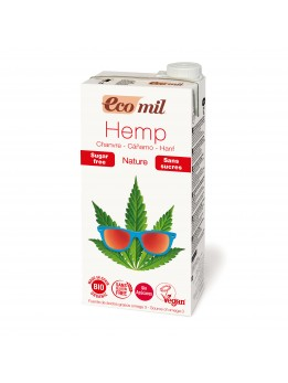 Ecomil Hemp Drink Sugar free 1L Available from the 12th November 2017