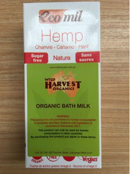 Ecomil Hemp Bath Milk 1L  WARNING This product is not permitted for Human Consumption in Australia and New Zealand