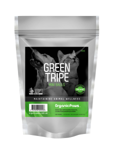 OrganicPaws Green Tripe Chunks 500g