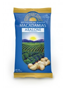 Suncoast Gold Macadamia Nuts Abalone Flavoured 75g