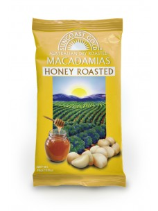 Suncoast Gold Macadamia Nuts Honey Roasted 75g