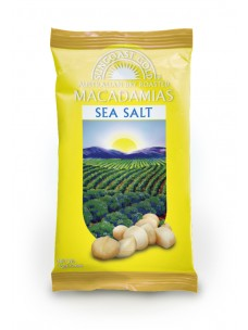 Suncoast Gold Macadamia Nuts Sea Salt 75g
