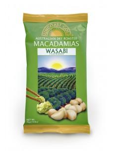 Suncoast Gold Macadamia Nuts Wasabi Flavoured 75g