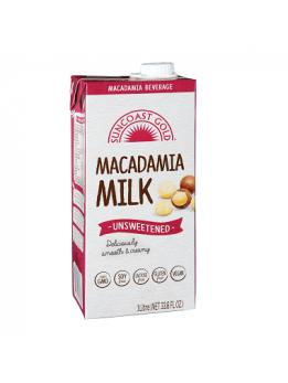Suncoast Gold Macadamia Milk Unsweetened 1x1L