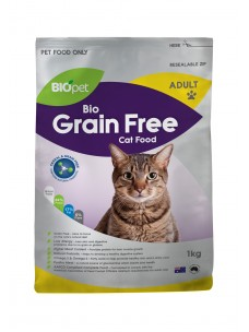 Biopet Grain free Cat food 1kg