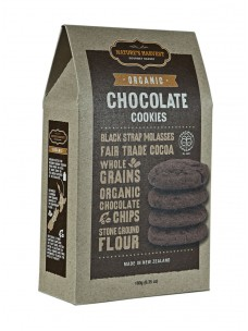 Natures Harvest Org Chocolate  Cookies 180g Box