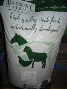 Aus Organic Chicken Layer Pellets 25kg