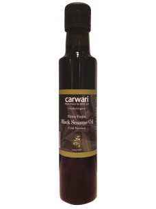 Carwari Black Extra Virgin Sesame Oil 250mls