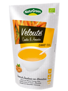 NaturGreen Soup Carrots & Almonds 6x500 ml Doypack