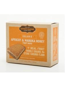 Natures Harvest Org Apricot-Honey Bars 200g box