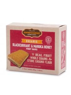 Natures Harvest Org Blackcurrant-Honey Bars 200g box