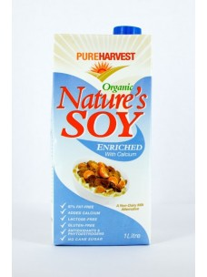 Pure Harvest Org Soy + Cal & Iron 12x1lt