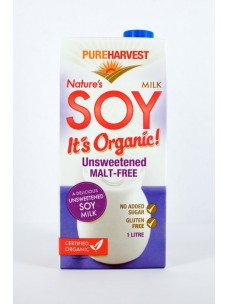 Pure Harvest Org Malt Free Soy 12x1lt