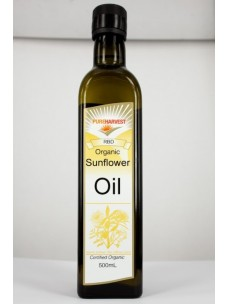 Pure Harvest Org Sunflower Oil 500ml