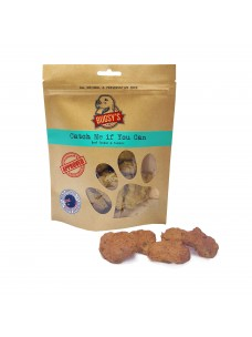 Bugsy's Catch me if you can Aust Beef Tendon Treat with Tumeric 70g