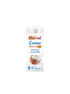 Ecomil Coconut Cuisine (Dairy-free cooking cream)   1x200mls