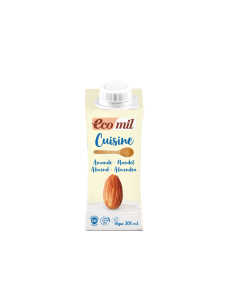 Ecomil Almond Cuisine (Dairy-free cooking cream)  1x200mls