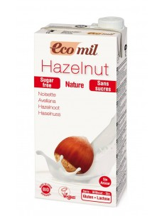 Ecomil Hazelnut Sugar free Drinks 1 x 1L    NEW !!!