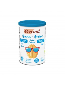 Ecomil Unsweetened Instant Oat milk with calcium 400g