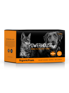 OrganicPaws Powerhouse Organ Blend with Turkey 1.5kg (6x250g)