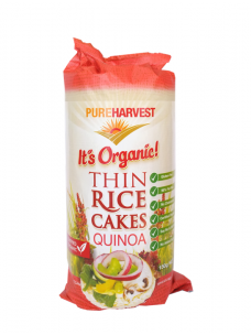Pure Harvest Rice cakes + Quinoa