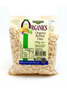 Pure Harvest Organic Rolled Oats   6x500g