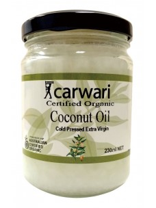Carwari Extra Virgin Coconut oil 230mls
