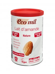 Ecomil Instant Nature Almond Powder Unsweetened 400g