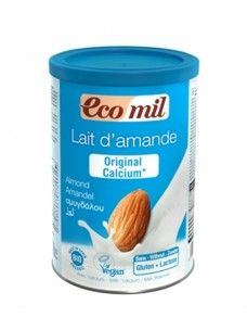 Ecomil Instant Almond Powder Original + Calcium 400g