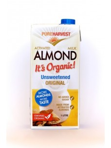 Pure Harvest Almond drink Unsweetened 12x1L