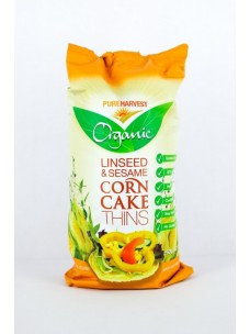 Pure Harvest Corn-Linseed Cakes 150g (12)