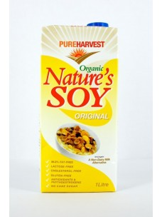 Pure Harvest Organic Nature's Soy 12x1lt